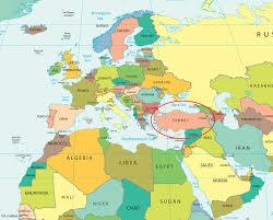 World Map Hungary by World Map Turkey Roundtripticket Me
