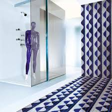 indoor mosaic tile wall floor glass glass3 blue sicis