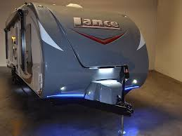 travel trailer led lights lance 2612 toy hauler swallows rzr s whole with room for desert