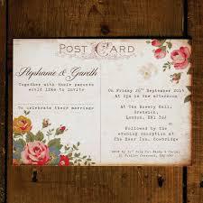 shabby chic wedding invitations shabby chic floral illustrations wedding invitation feel