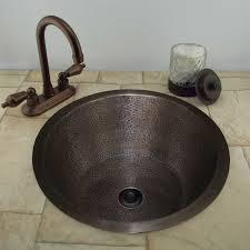hammered round sink signature hardware