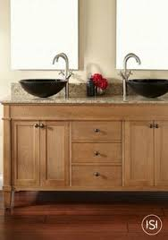 Shaker Style Vanity Bathroom by Shaker Style Cherry Tall Bath Vanity With A 2 Sink Top The