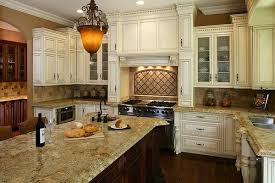 Kitchen Cabinet Glaze Brilliant Antique White Glazed Kitchen Cabinets Beautiful Interior