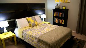 Yellow Dining Room Decorating Ideas by Accessories Glamorous Yellow And Gray Bedroom Update Living