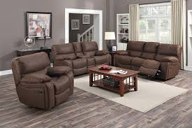 Reclining Sofa And Loveseat by Ramsey M6016 Microfiber Reclining Sofa Loveseat And Glider