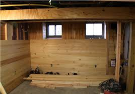 Covering Concrete Walls In Basement by Wall Covering Ideas For Basements Basements Ideas