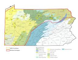 Map Of Western Pennsylvania by Western Pennsylvania Conservancy Energy Impact Research