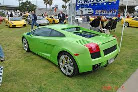 Lamborghini Gallardo Lime Green - bella itala event of april 2008