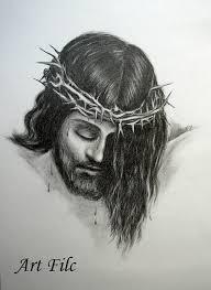 items similar to original pencil drawing portrait of jesus christ