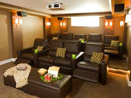 in home movie theater living room home movie theater theater room in small spaces