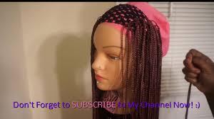 micro crochet hair crochet head band wig superline micro knot braid youtube