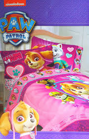 Dimensions Of Toddler Bed Comforter Amazon Com Paw Patrol Skye Comforter Pink Twin Size