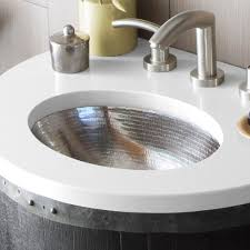 Hammered Nickel Bathroom Sink Sink Ideas