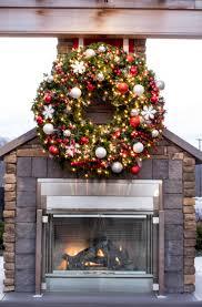 lighted christmas wreaths for windows interior artificial christmas wreaths for front door artificial