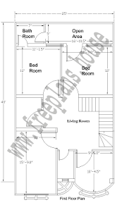 25 40 feet 92 square meter house plan