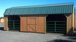 Loafing Shed Plans Horse Shelter by Richard U0027s Garden Center Garden City Nursery