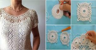 crochet blouses crochet blouses tutorial empat blouse