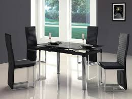 modern glass top dining table modern square dining table creditrestore with regard to square