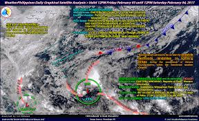 Satellite Weather Map Weatherphilippines Daily Graphical Satellite Analysis From 12pm
