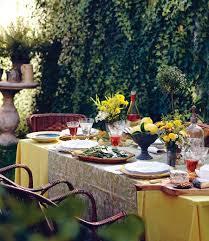 Backyard Entertaining Ideas Outdoor Summer Table Decorations Photograph Summer Garden