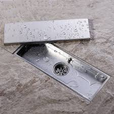 kes sus 304 stainless steel shower floor drain with removable