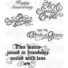 wedding sentiments wedding sts ebay