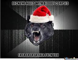 Insanity Wolf Memes - insanity wolf christmas by thehole meme center