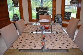 the easiest diy halloween placemats ever bucky the blog