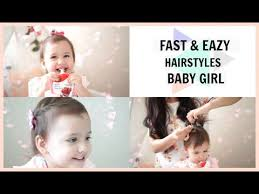 baby girl hair easy hairstyles for baby with hair