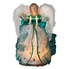 buy lighted trees decorations from bed bath beyond