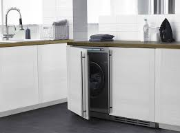 Washer And Dryer Cabinet Little Giants Compact Washers And Dryers Remodelista