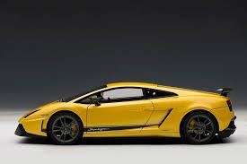 lamborghini gallardo superleggera yellow autoart lamborghini gallardo lp570 4 superleggera metallic