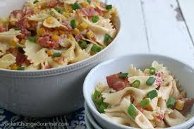 mexican pasta salad pocket change gourmet