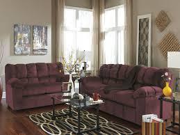 Burgundy Living Room Set Julson Burgundy Ultra Plush Living Room Set 266002
