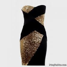 gold party dress black and gold party dress 2016 2017 b2b fashion