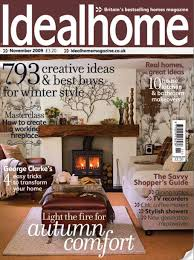 interior home magazine clean lines and retro styling as seen in ideal home magazine