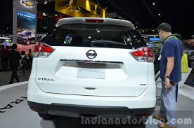 2015 nissan x trail for 2015 nissan x trail rear fascia at the 2014 thailand international