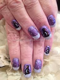 easy winter snowflake nail art ideas designs 20122013 for girls