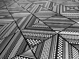 surprising geometric patterns displayed by core deco tile