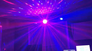 Hanging Led Lights by Mini Led Rgb Crystal Magic Ball Effect Light Dmx Disco Dj Stage
