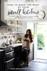 how to use space in small kitchen how to make the most of a small kitchen swoon worthy