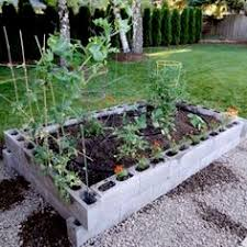 Build A Platform Bed With Cinder Blocks by Cinder Block Raised Garden Bed Is Easy Diy Gardens Raised
