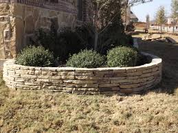 flower bed edging beds and stacked stones on pinterest idolza