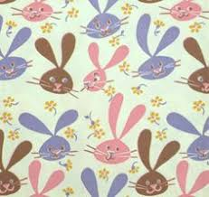 easter wrapping paper 2 sheets of vintage thick easter wrapping paper yellow