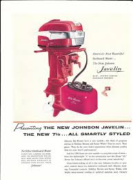1957 johnson outboard motor line up illustration 3 hp to 35 hp