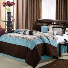 Blue And Brown Bed Sets Easy Bedroom Concept By 200 Best Chic Home Comforter And Bedroom