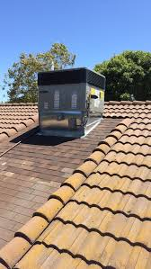 Tile Roof Repair After Picture Of Roof Repair Around A C Unit Tile Roof With