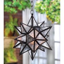hanging moroccan star lantern wholesale at koehler home decor