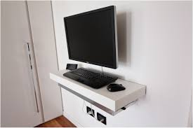 Wall Mount Computer Desk Wall Mounted Computer Desk New Home Design The Key To