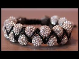 shamballa bead bracelet images Diy double beaded shamballa bracelet jpg